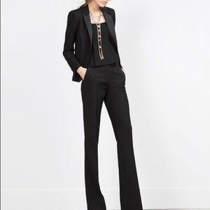 Zara Woman Tuxedo Blazer